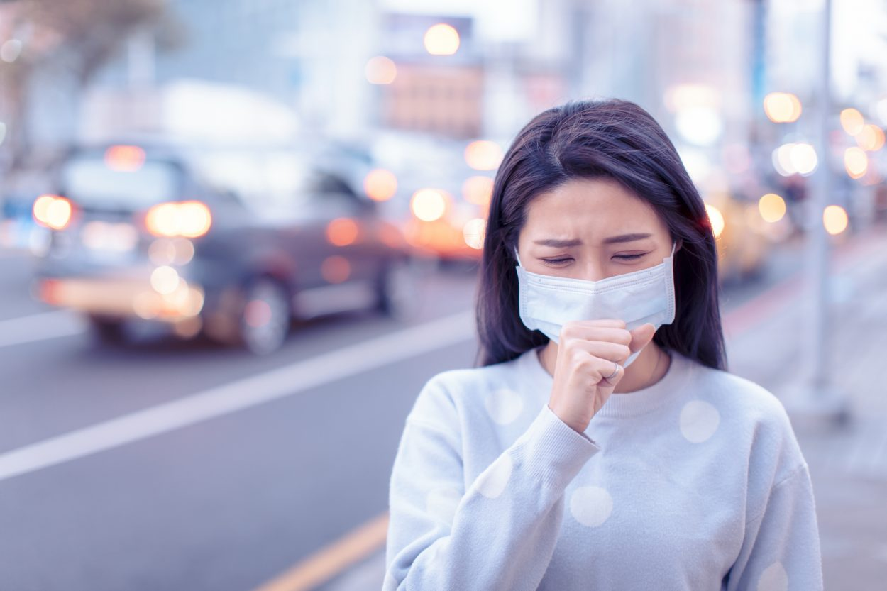 Covid-19 patients have a cough that had a distinctive sound of a chirping intake of breath at the end that differs from other illnesses. (Credit: iStock)