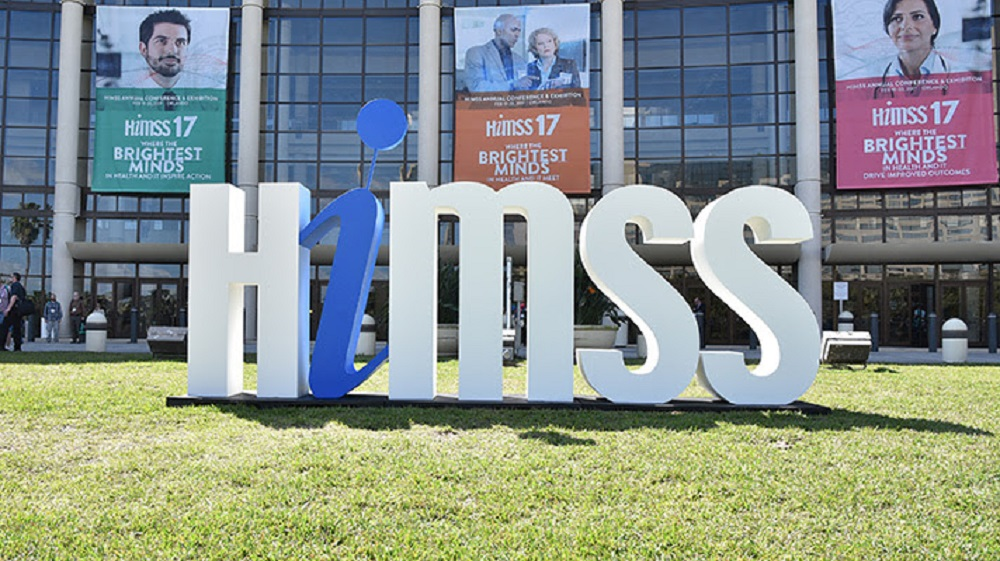 The healthcare IT HIMSS Conference. (Credit: HIMSS)