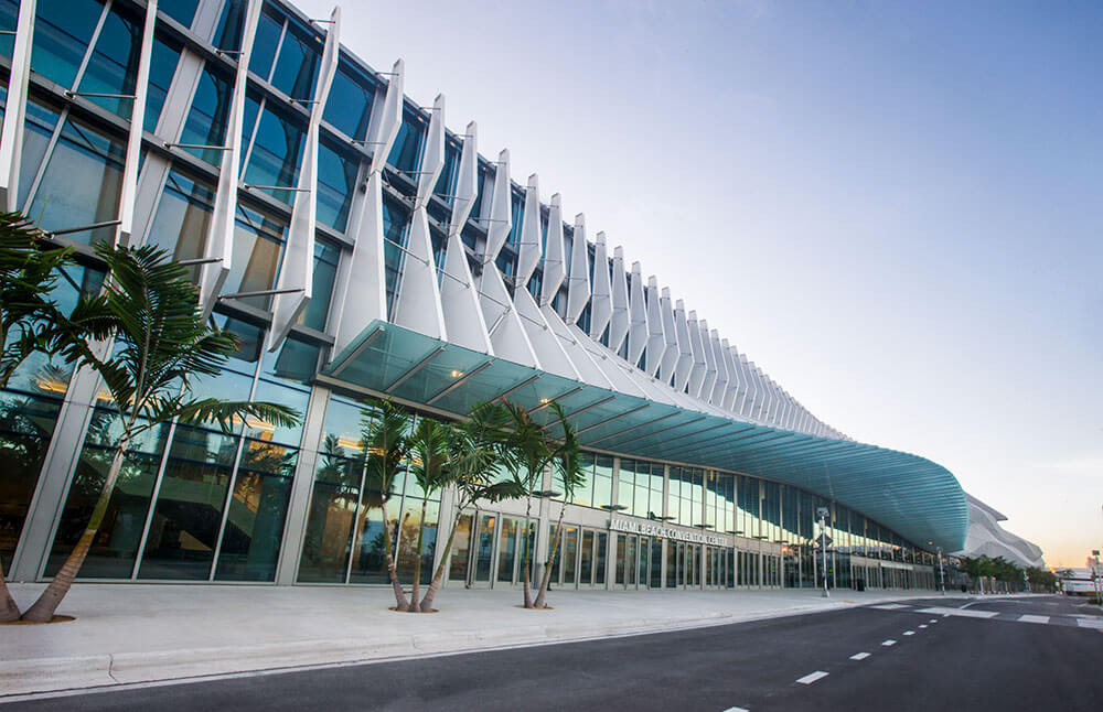 The Miami Beach Convention Center. (Credit: MBCC)