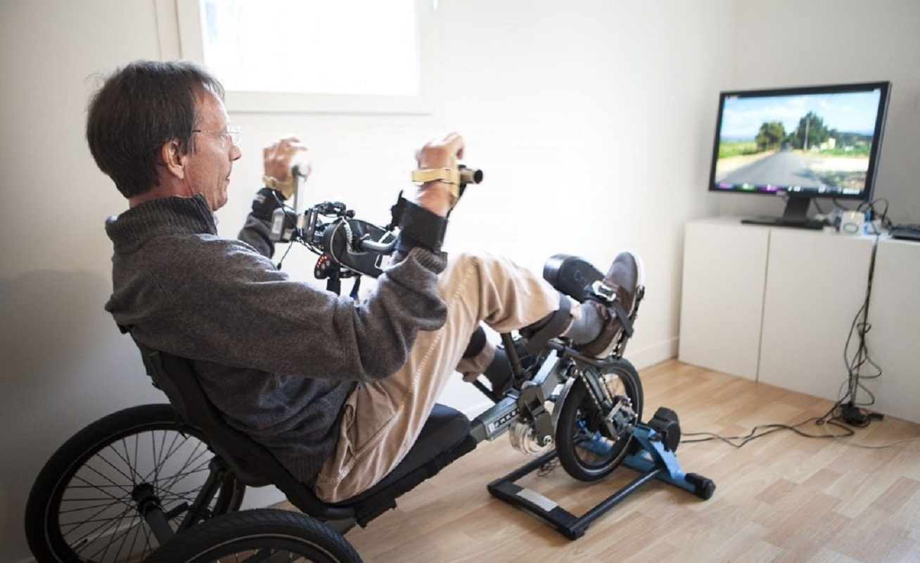 Autonomous Use of Smart Fitness Equipment for People with Reduced Mobility