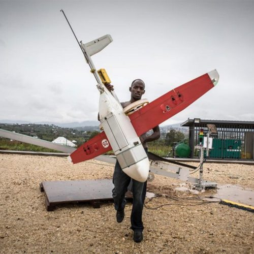 Drone-Delivery Start-up in Rwanda