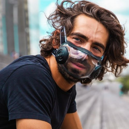 CIVILITY: High-Tech Protective Anti-Covid Mask