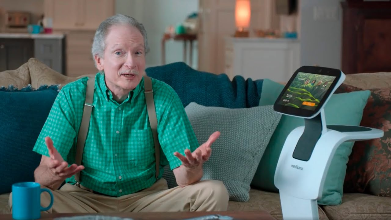 A Home Robot for Elderly Patients