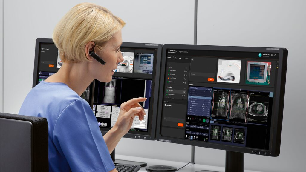 With Syngo Carbon, Siemens Healthineers assures easy access to all of the relevant patient data generated in diagnostic processes and is not limited to imaging. (Credit: Siemens Healthineers)